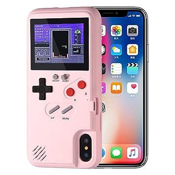 coque iphone xs game boy