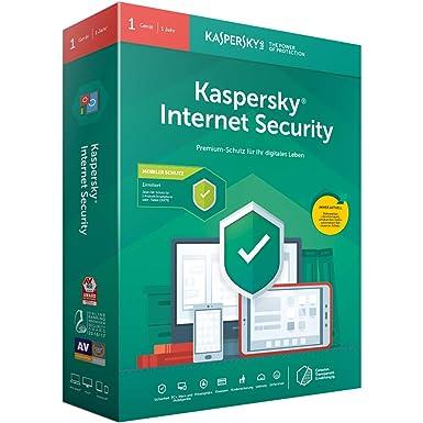 Kaspersky Internet Security 2019 Standard   1 Gerät   1 Jahr   Limitiert: + Android-Schutz   Windows/Mac/Android   Box   Down