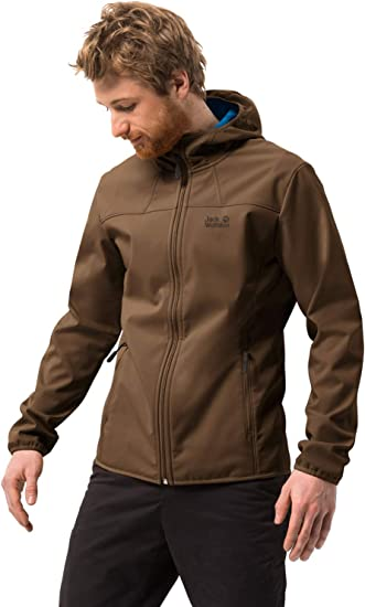 Jack Wolfskin Northern Point Men's Robust Windproof Soft Shell PFC Free