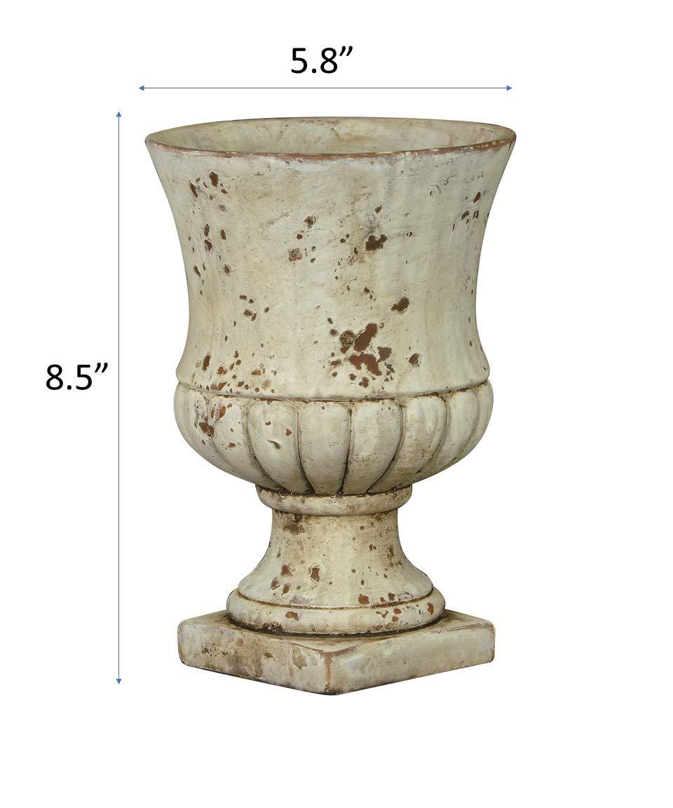 Remus urn in sandstone