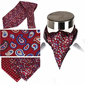 YIXINY Pajarita Hombre Multi-función Tuxedos Trajes Accesorios Toalla De Bolsillo Corbatas 15 * 128CM 3 Colores ( Color : 3 )