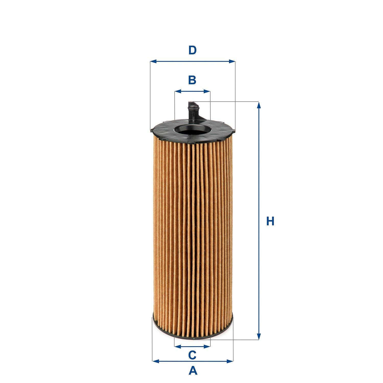 Ufi Filters 25.068.00 /Ölfilter Wechselfilter