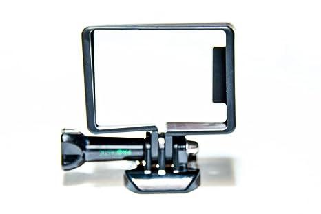 PROtastic - Carcasa Protectora para cámara GoPro Hero 3 3+ 4 (Montaje con Hebilla), Color Negro