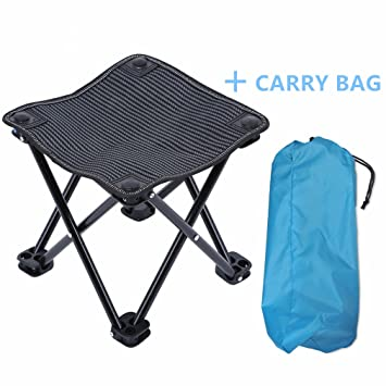 Mini Portable Outdoor Folding Stool 600D Oxford Cloth Lightweight C&ing Fishing Picnic Chair with Carry Bag  sc 1 st  Amazon.com & Amazon.com : Mini Portable Outdoor Folding Stool 600D Oxford Cloth ... islam-shia.org