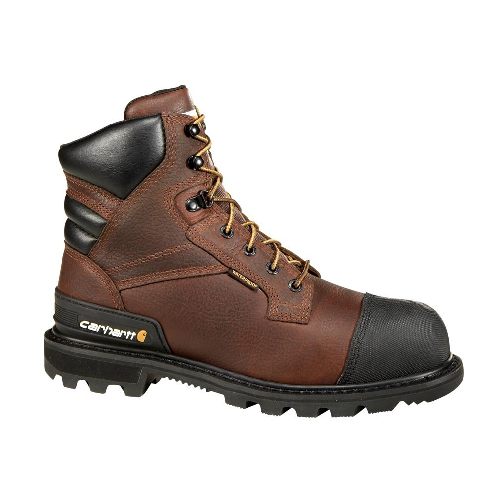 Carhartt Men's CSA 6-inch Wtrprf Insulated Work Boot Steel Safety Toe CMR6859 Industrial, Brown Pebble Oil Tanned, 10.5 W US by Carhartt