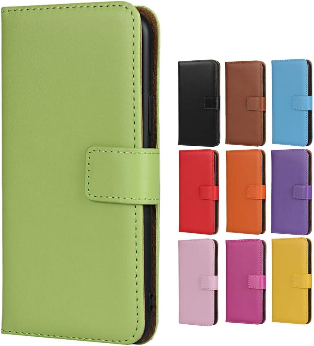 Jaorty iPhone 6 Plus/6s Plus Case,Genuine Premium Leather Folio Wallet Case Flip Cover Case Kickstand Feature & Magnetic Closure & Card Slots/Cash Compartment iPhone 6 Plus/6s Plus,Green