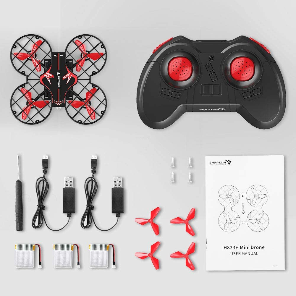 Snaptain H823H plus is the best nano quadcopters for beginners & kids