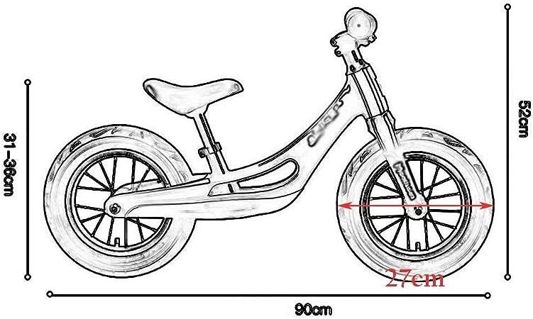 Haaemy Balance Bike niños para niños y niñas de 1,5 a 5 años, No ...