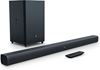 JBL 2.1-Channel Sound Bar with Wireless Subwoofer & Bluetooth