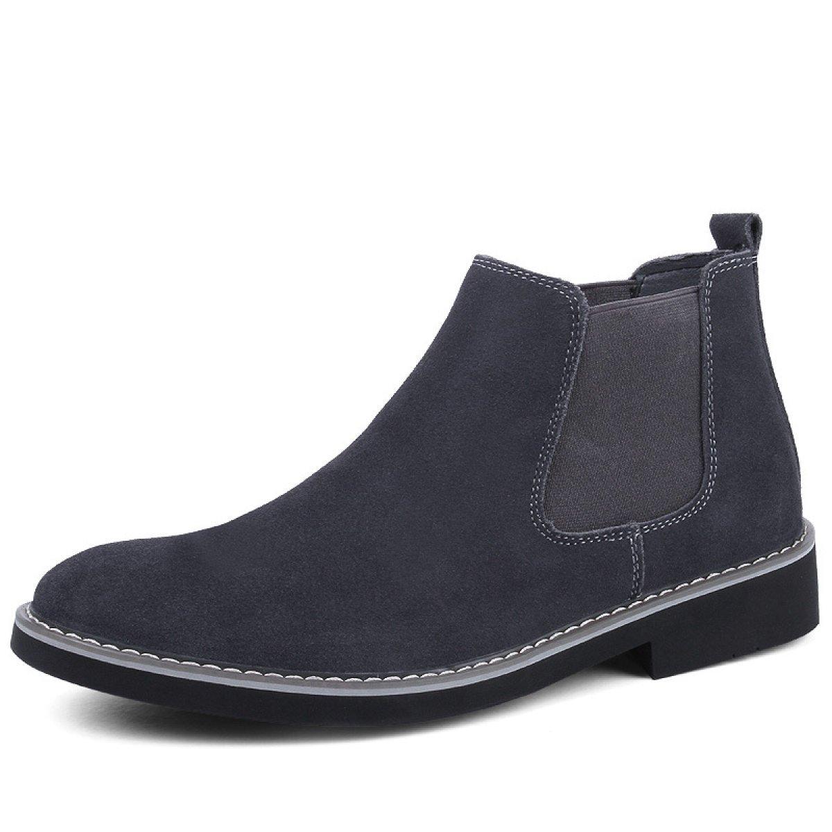 GTYMFH Herbst Werkzeug Schuhe Füße Männer Plus Samt Warm In Der Hilfe Schuhe England Retro Stiefel
