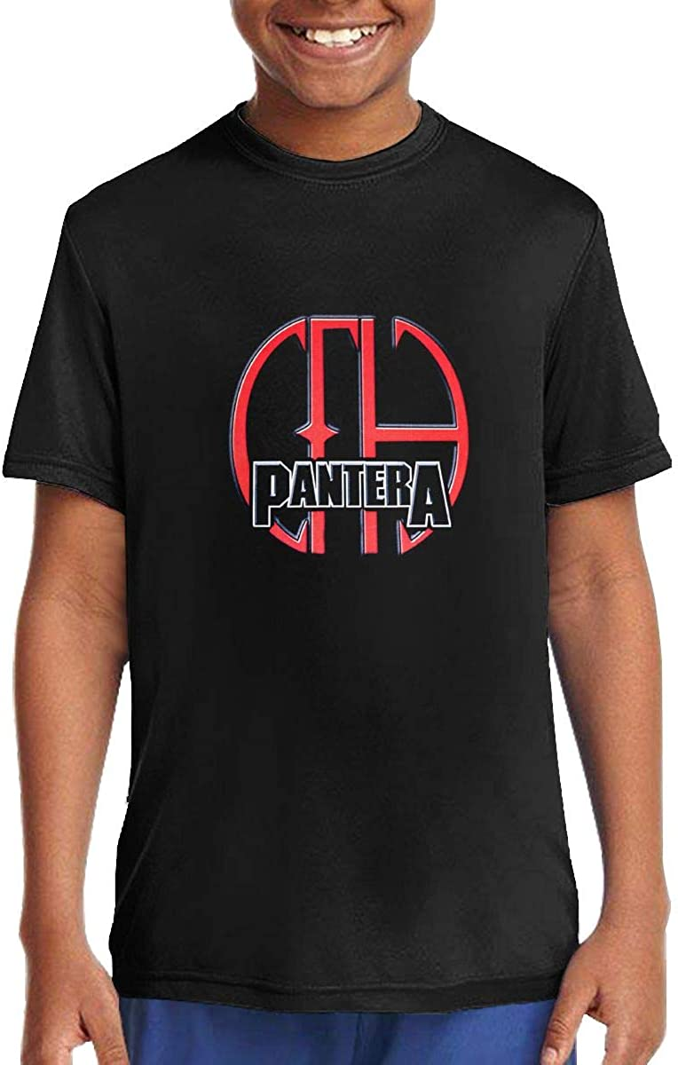 Mzjj0ZI0zz Pantera Boys Girls Short Sleeve Tee