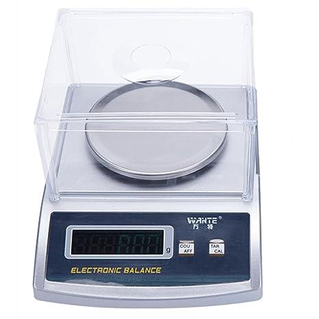 BAOSHISHAN - Báscula de equilibrio electrónico de laboratorio digital de alta precisión, balanzas de joyería