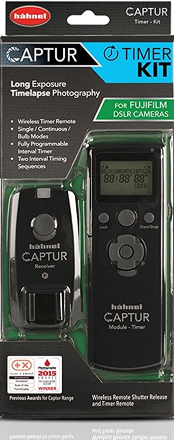Hähnel Captur Timer Kit Schwarz Kamera