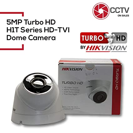 Hikvision 5MP CMOS Image Sensor Turbo HD EXIR Turret HD-TVI Camera with 2.8mm