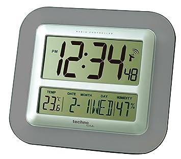 Wetterstationen Kleingeräte Haushalt Sinnvoll Dcf Funk-wanduhr Funk-uhr Bad-uhr Badezimmer-uhr Digital Thermometer Display
