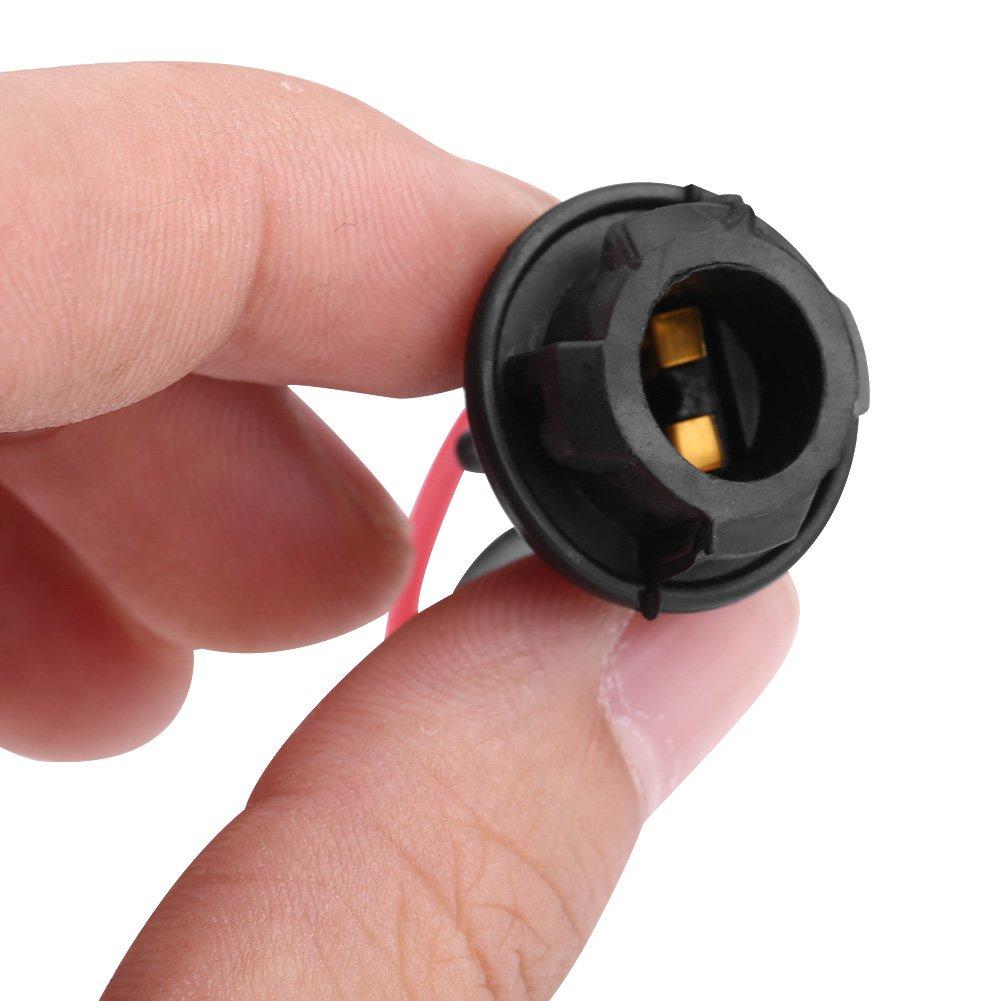 10pcs Car LED Light Bulb Socket T10 Car Plug-in Light Bulb Extension Socket Holder Adapter for Fog Lights Small Lights