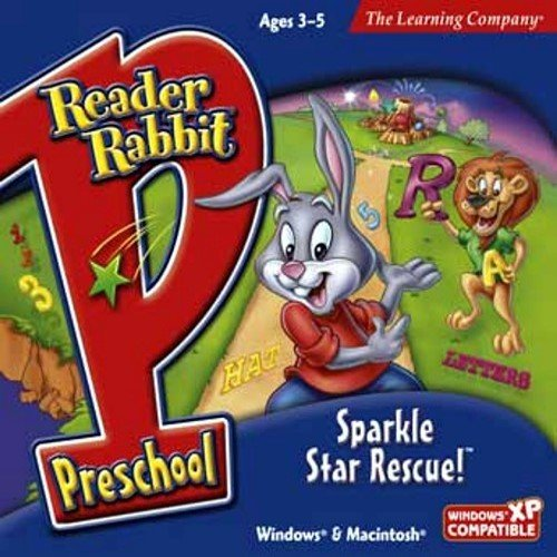Reader Rabbit Preschool Sparkle Star Rescue Age Rating:3 - 5 32 Mb Pc