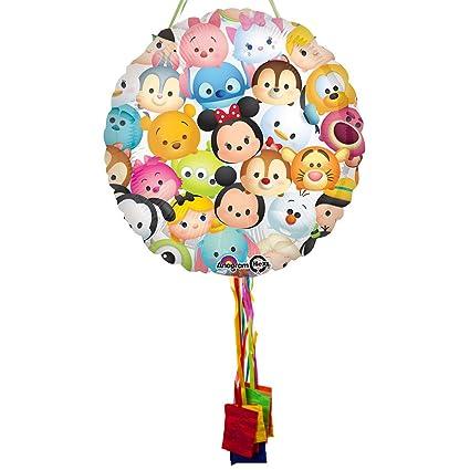 Amazon.com: Tsum Tsum Cumpleaños Tire Cadena Piñata: Toys ...