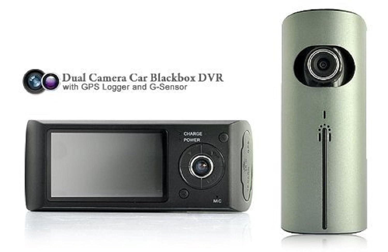 Stoga Ubox STV300 2,7 Pulgadas de Pantalla Dual cámara 5MP Coche Black Box DVR con el Registrador de GPS y Sensor G: Amazon.es: Bricolaje y herramientas