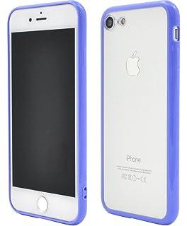 2769e91c9e PLATA iPhone7 / iPhone8 ケース バンパー クリア カバー iPhone アイフォン 7 8 【 パープル 紫 むらさき
