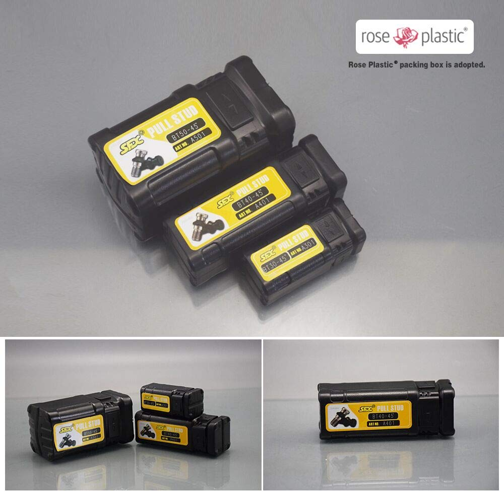 10pcs CAT40-45/° Coolant CNC Pull Studs fits HAAS Machine Tool