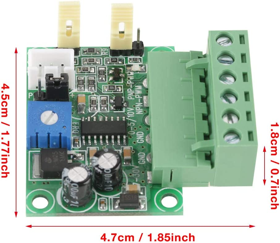 5 V//0-10 V Wandlermodul 2KHZ-20 KHZ analoge Eingangsspannung auf 0-100/% PWM-Signal