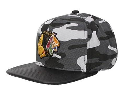 515212b248c78 Mitchell   Ness - Gorra de béisbol - para Hombre Negro Chicago Blackhawks   EU233-BLK  Amazon.es  Ropa y accesorios