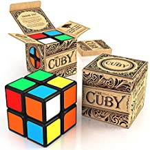 The Cuby - The Best Two-Layer Brain Teaser 2x2 Cube - Perfect For Beginners - Hours of Fun In The Palm Of Your...