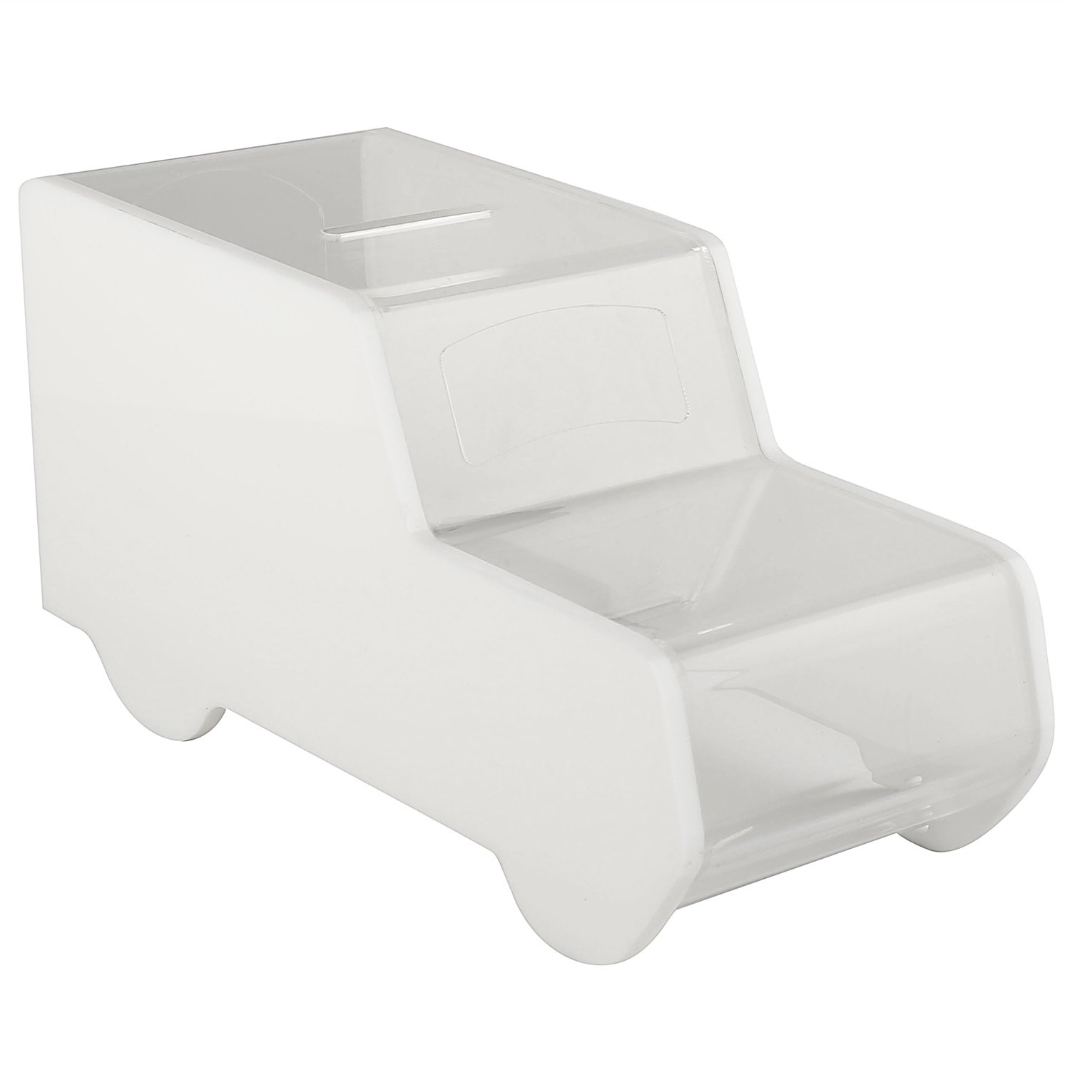 Collection Box Clear Collection Box Ambulance//Truck Acrylic Box MCB Tip Container Charity Box