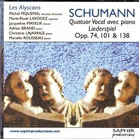 spanische liebes lieder op 138 intermezzo piano 4 mains schumann les. Black Bedroom Furniture Sets. Home Design Ideas