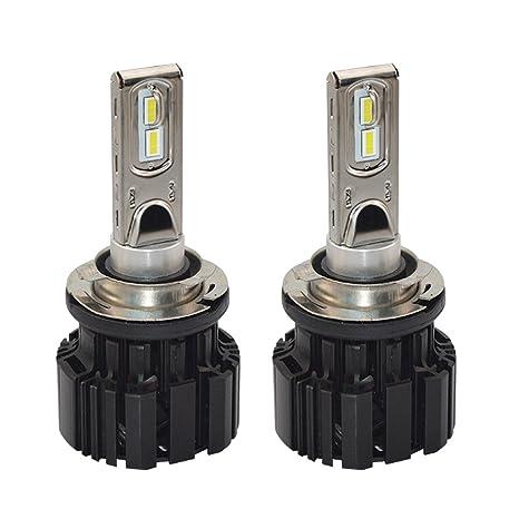 Gazechimp 1par LED Bombilla de Foco Delantero H15 6000K de Largas Pieza para Coche