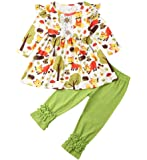 Emmababy Baby Boys' Clothes Romper Jacket+ Plaid Pants Hat Headband Outfits Set
