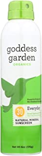 product image for Goddess Garden Organic Sunscreen - Sunny Body Natural SPF 30 Continuous Spray - 6 oz