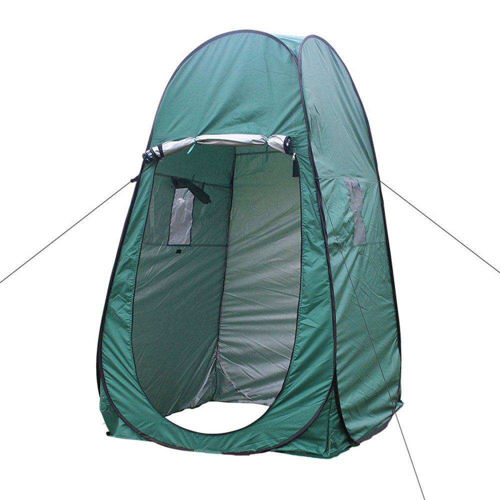 Protable Camping Pool Dressing Changing Tent,Businda Privacy Shelter Movable Waterproof Tent with Carrying Bag for Beach Park Outdoor Camping
