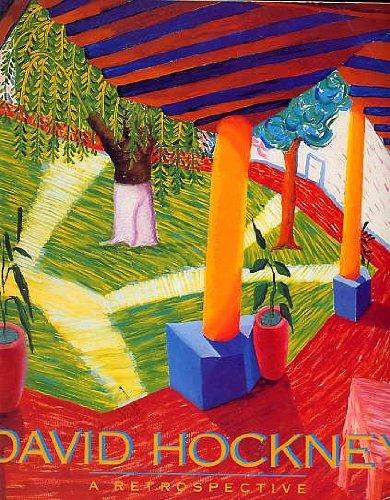 David Hockney, A Retrospective Los Angeles County Museum of Art Exhibition
