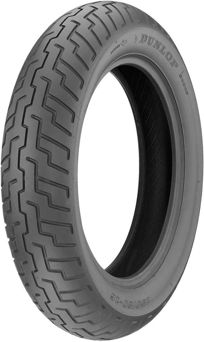 B000GRS4Q4 Dunlop D404 Front Motorcycle Tire 110/90-18 (61H) Black Wall - Fits: Honda Magna VF700C 1984-1986 61fyq23gP2L.SL1200_