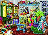 quilt puzzle - The Quilt Fair 1000 Piece Jigsaw Puzzle by SunsOut