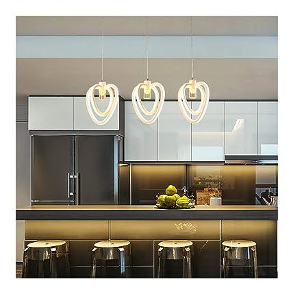 MWG Lámparas de araña Lámpara de Mesa de Cocina Comedor ...