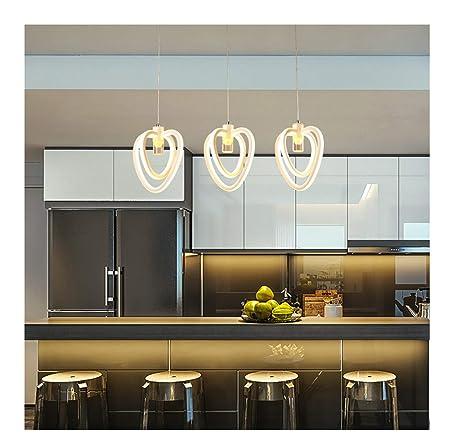 ASHENG Lámpara de Mesa de Cocina Comedor Lámpara Colgante de ...