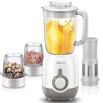 Exprimidor, máquina de cocinar, alimentos para el hogar, carne molida, leche de soja, jugo, mezclador multifunción: Amazon.es: Hogar