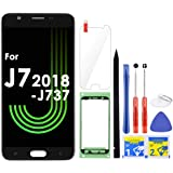 J7 Screen Replacement LCD Display Touch Digitizer Assembly for Samsung Galaxy J7 2018 SM-J737 J737A / J7 Refine 2018…