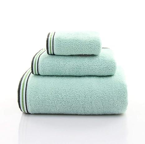 Toalla de baño, Juego de algodón de 3, Toallas de Hotel para el hogar