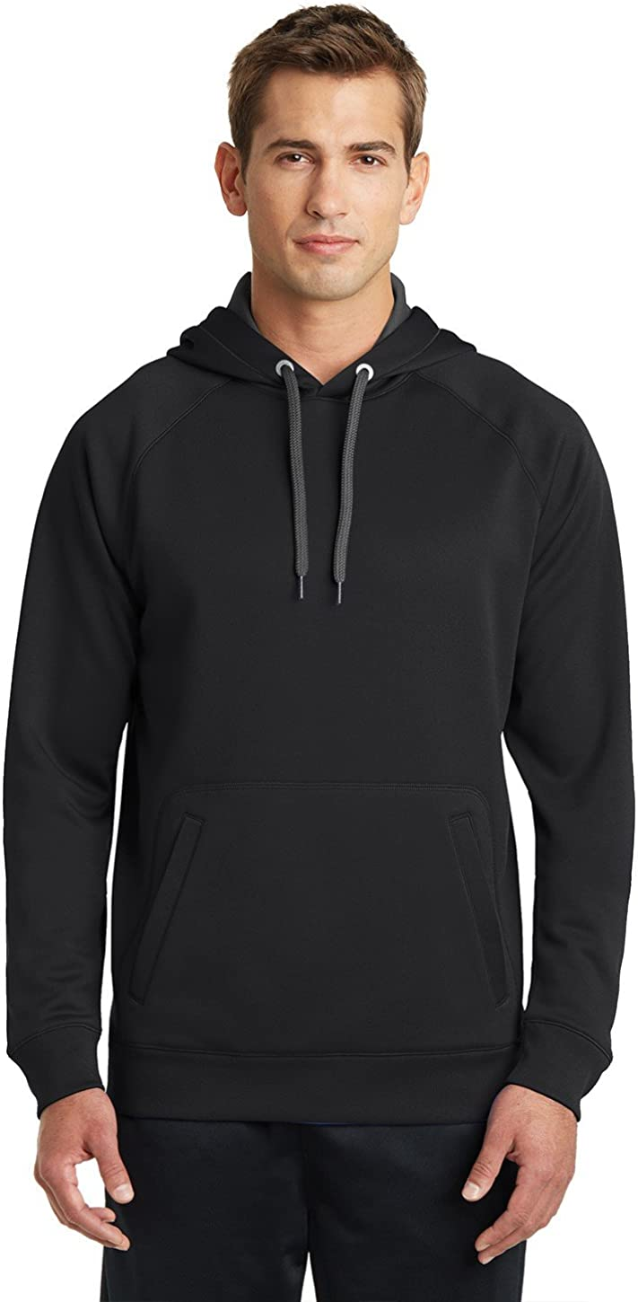 Sport-Tek Mens Tech Fleece Hooded Sweatshirt