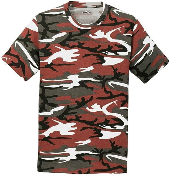 Amazon.com  Joe s USA Camoflauge T-Shirts- Camo Tees in 6 Colors and ... 753ec59bf9e