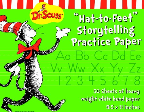 Eureka Cat in the Hat Story Telling Paper, 50 Sheets (805101) - DISCONTINUED by (Halloween Greetings Animated)