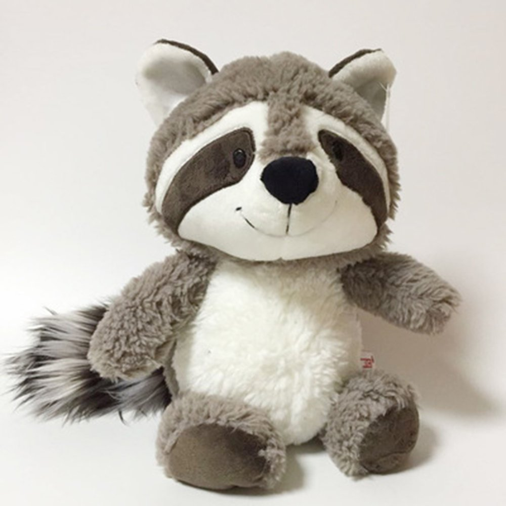 25cm Cartoon Big Tail Raccoon Plush Toy Cute Soft Stuffed Animals Doll Pillow for Girls Children Kids Baby Birthday Gifts by Eden Fghk (Image #4)