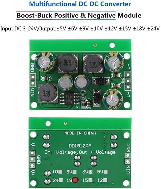 DC-DC-positive negative Spannung Spannungsversorgung Boost-Buck-Wandler Step Up Down Regler Eingangsspannung 3~24V Output /±5VDC