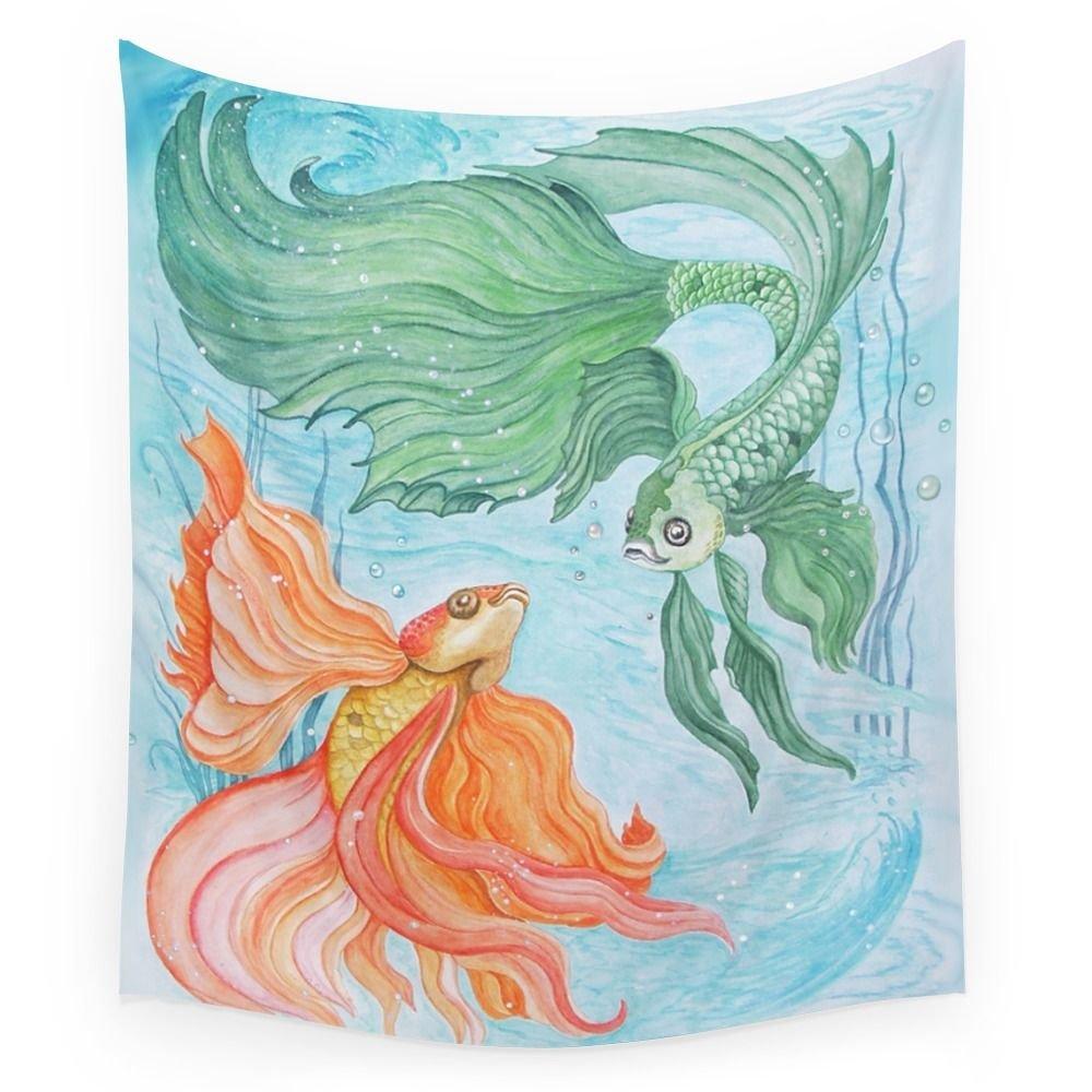 Society6 Betta Dance Wall Tapestry Medium: 68'' x 80''