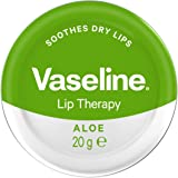 Vaseline Lip Therapy | Vaseline Lip Balm | Lip Moisturizer for Very Dry Lips | Aloe | 20g