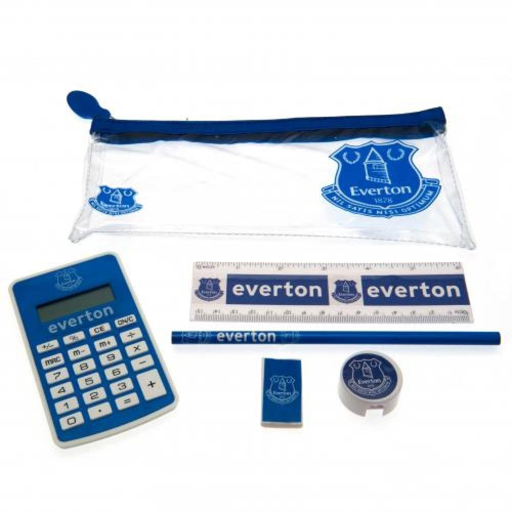Everton FC Official Football Gift Exam Set - A Great Christmas / Birthday Gift Idea For Men And Boys